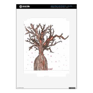 Human Sakura Tree iPad 3 Decal
