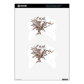Human Sakura Tree Xbox 360 Controller Skin