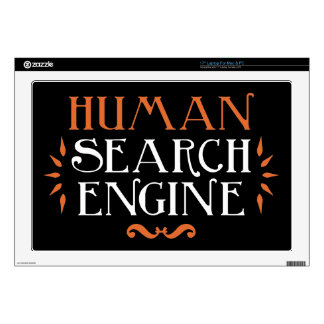 "Human Search Engine 17"" Laptop Skin"
