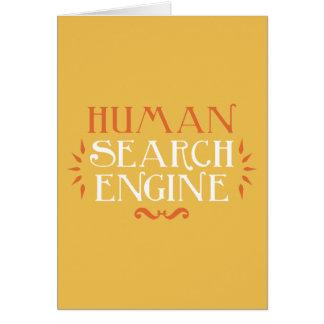 Human Search Engine Card