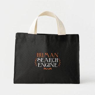 Human Search Engine Mini Tote Bag