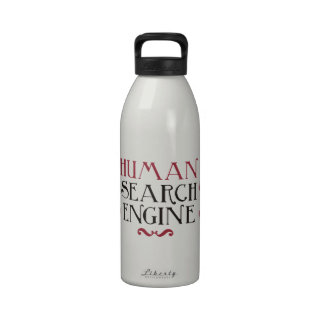 Human Search Engine Drinking Bottle