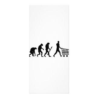 human shopping evolution custom rack cards