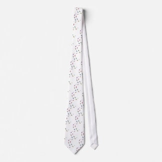 Human skeletal foot prints - muliSolidColor Tie