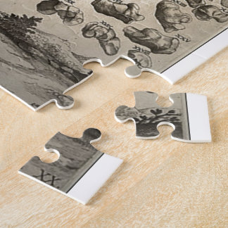 Human Skeleton ca 1741 Jigsaw Puzzle