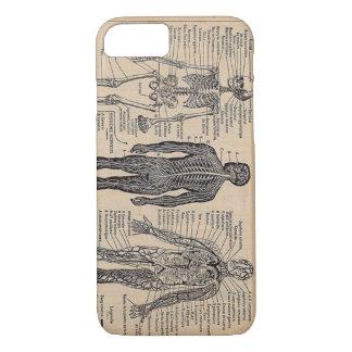 Human Skeleton Medical Diagram iPhone 7 case
