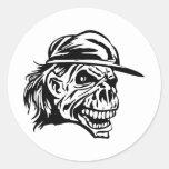 Human Skull 143 Sticker