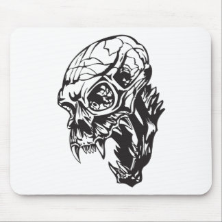 Human Skull 160 Mouse Pads