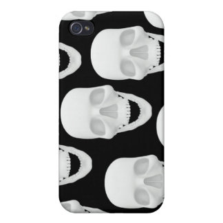 Human Skull Design Case For iPhone 4