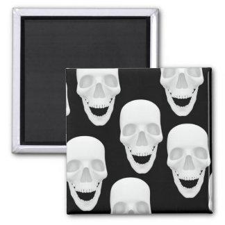 Human Skull Design Magnet