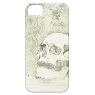 Human Skull Etching iPhone SE/5/5s Case