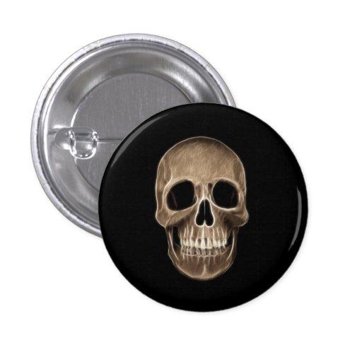 Human Skull Halloween X-Ray Skeleton Pins