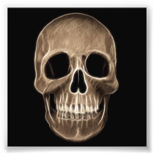 Human Skull Halloween X-Ray Skeleton Photo Print | Zazzle.com X Ray Skull 4 Views
