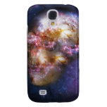 Human Skull in Space Art Samsung Galaxy S4 Covers