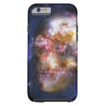 Human Skull in the Stars iPhone 6 Case