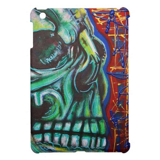 Human Skull iPad Mini Cases