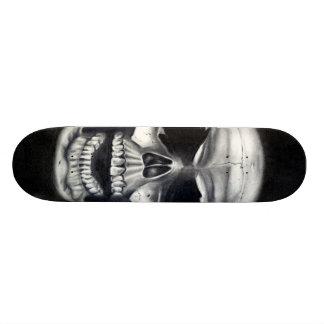 Human Skull Skateboard