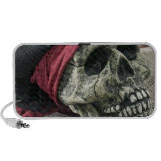 Human skull mini speakers