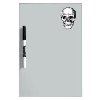 Human Skull White Face Dry Erase Whiteboards
