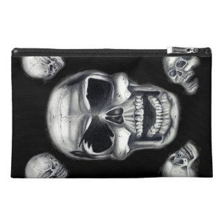 Human Skulls Black Accessory Bags