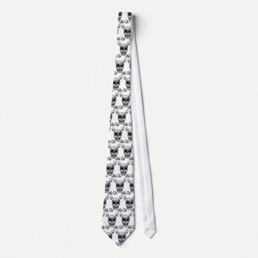 Human Skulls Necktie
