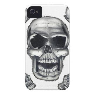 Human Skulls White Blackberry Bold Case