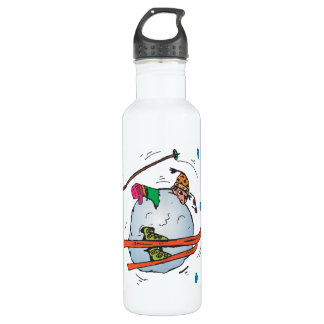 Human Snowball 2 Stainless Steel Water Bottle