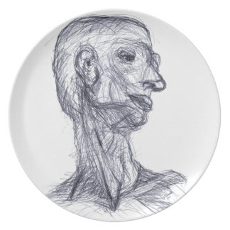 Human Study Party Plates