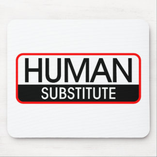 Human Substitute Mouse Pad