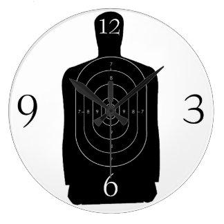 Human Target Large Clock