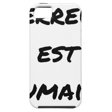 Halloween Themed HUMAN TERROR EAST - Puns François City iPhone SE/5/5s Case