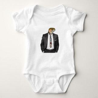 Human Tie Baby Bodysuit