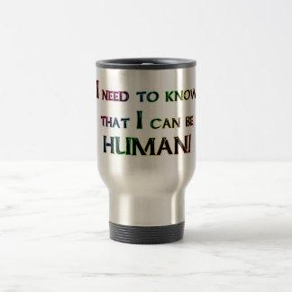 Human Travel Mug