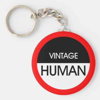 Human Vintage A2 Keychain