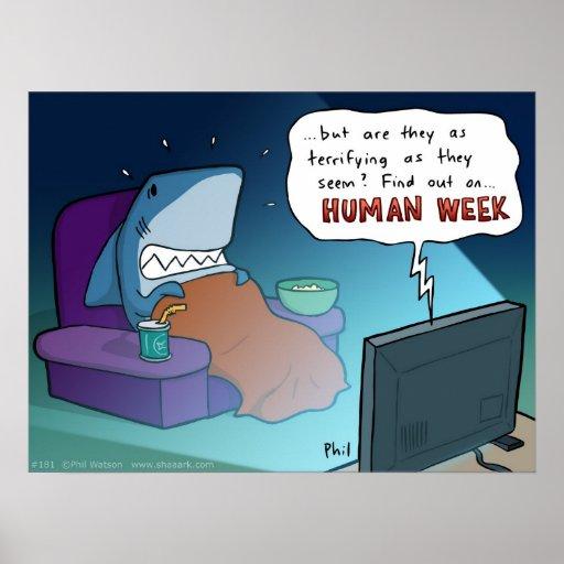 Human week poster
