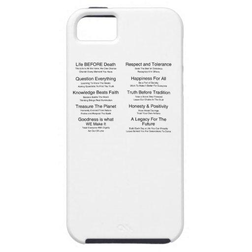 Humandments iPhone 5 Covers