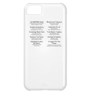 Humandments iPhone 5C Cover