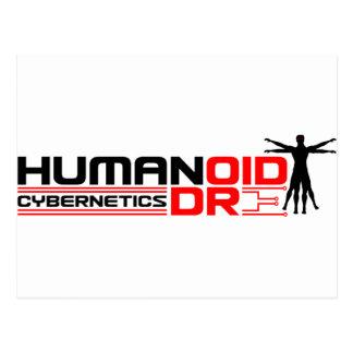 Humandroid Cybernetics Postcard