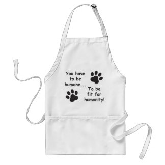 Humane for Humanity Adult Apron