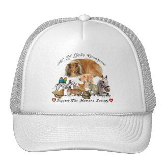Humane Society All God s Creatures Animal Support Hat