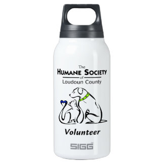 Humane Society of Loudoun County Logo Insulated Water Bottle