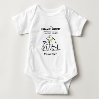 Humane Society of Loudoun County Logo Products Baby Bodysuit