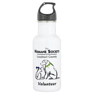 Humane Society of Loudoun County Logo Water Bottle