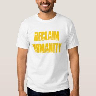 Humani-camiseta de la recuperación camisas
