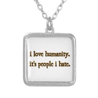 Humanidad Colgante Cuadrado