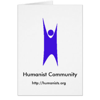 Humanism_blue_88x270, Humanist Community, http:... Card