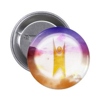 Humanism Symbol 2 Inch Round Button