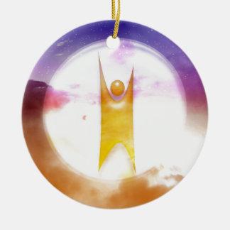 Humanism Symbol Ceramic Ornament