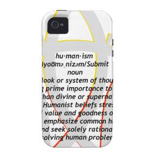 Humanismo iPhone 4/4S Carcasa