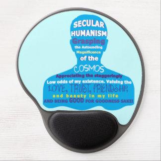 Humanismo secular alfombrillas de ratón con gel